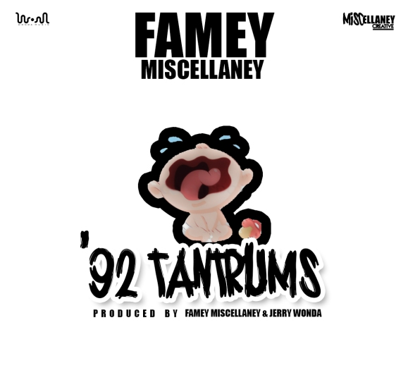 92 TANTRUMS - FAMEY & JERRY - SMALL