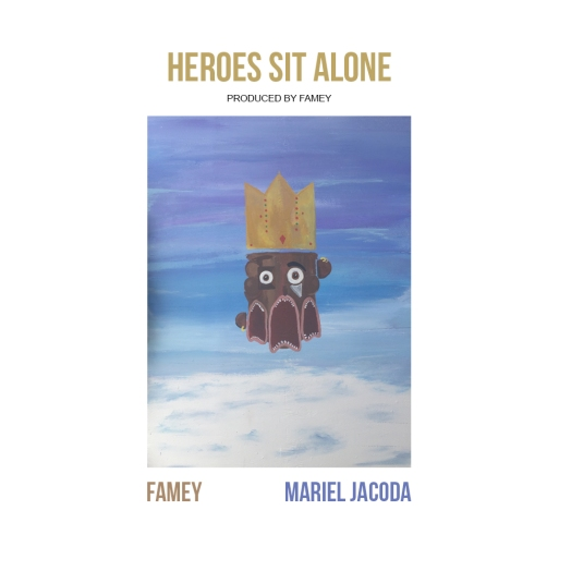 HEROES SIT ALONE - ARTWORK